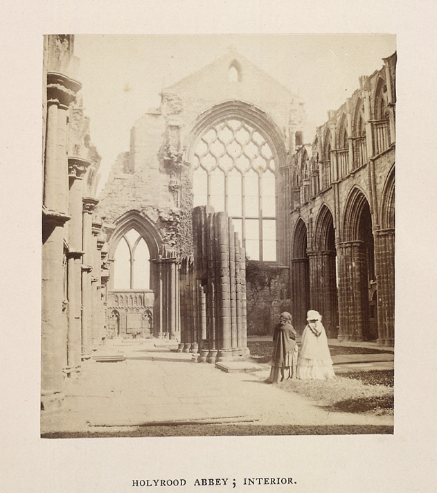 Holyrood Abbey; Interior
